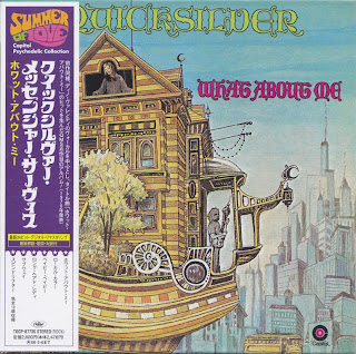 QUICKSILVER MESSENGER SERVICE - WHAT ABOUT ME (CAPITOL 1970) Jap mastering cardboard sleeve