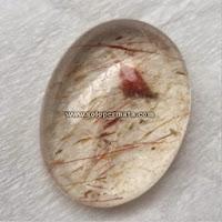 Batu Permata Kecubung Rambut