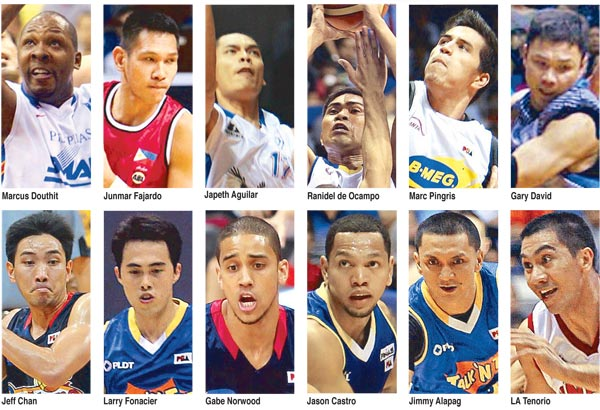 Team Pilipinas Players