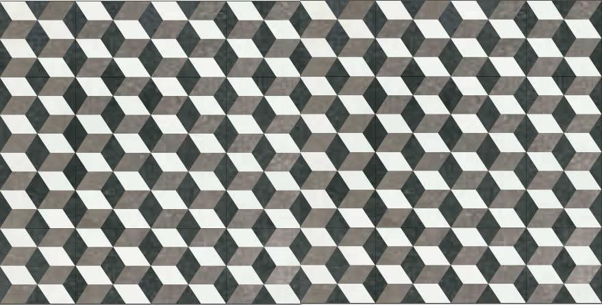 Quadrat lindos de viernes - Piso blanco y gris ...