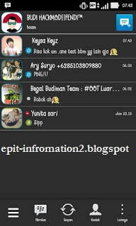 Updates BBM for Android [Mod] BlackChat Simple Theme