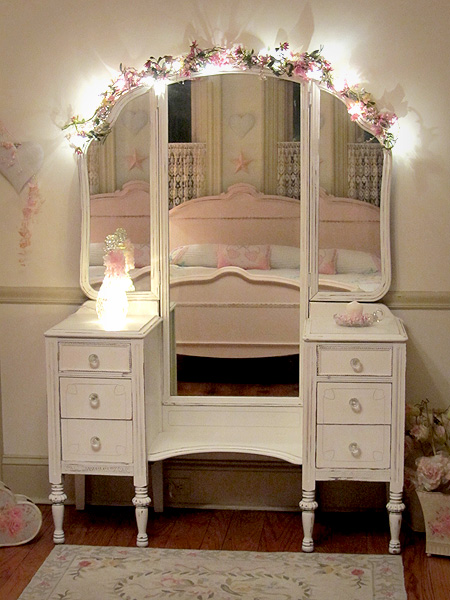 Shipping On Top Of That So I Decided To Go Ahead And Try DIY My Own Shabby Chic Vanity Here Are Some The Pictures Drew Inspiration From
