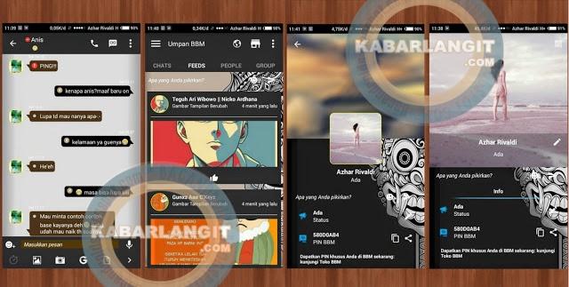 Download BBM Mod Thema New Aksara Versi 2.11.0.18 Apk Terbaru