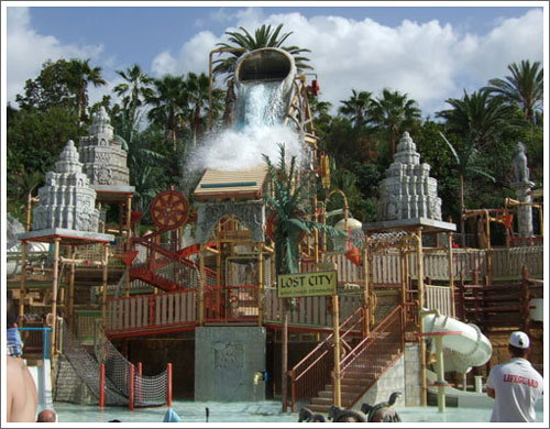 lost city at siam park