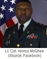Lt. Col. Alonzo McGhee