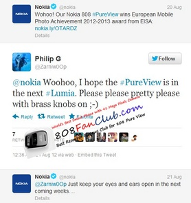 nokia announce on twitter