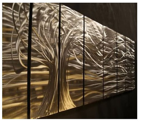 Artwork : Contemporary metal wall art. Wall Sculptures by Ash Carl ...