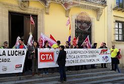 Intervención de Francisco Moro, secretario general de la Coordinadora de Trabajadores de Andalucía,