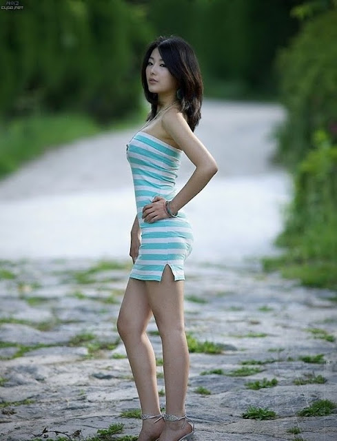 Korean Model Jo Sang Hee
