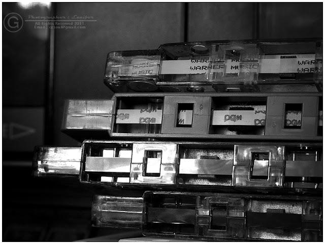 Photograph Cassette Tape