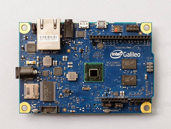 New Intel Galileo equipped with Intel's Quark X1000
