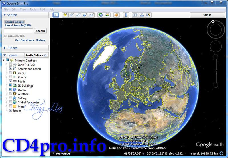 Скачать Google Планета Земля Андроид
