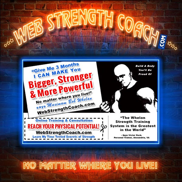 Web Strength Coach - click logo