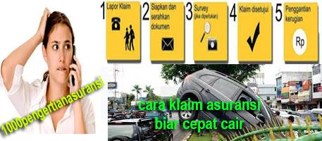 Trik Klaim Asuransi Kendaraan Agar Cepat Cair Trik Klaim Asuransi Kendaraan Agar Cepat Cair
