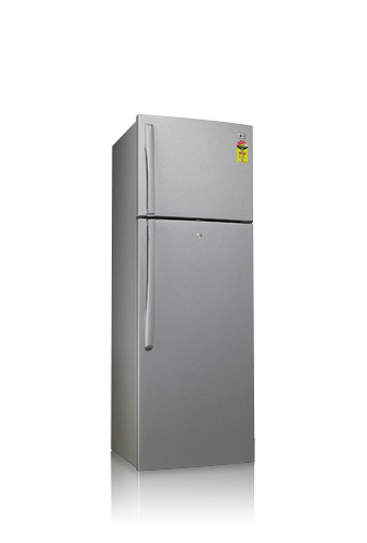 390 litres frost free refrigerator with green ion door cooling