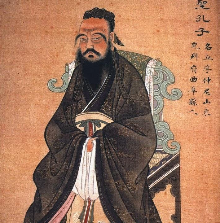 Was confucius a redhead