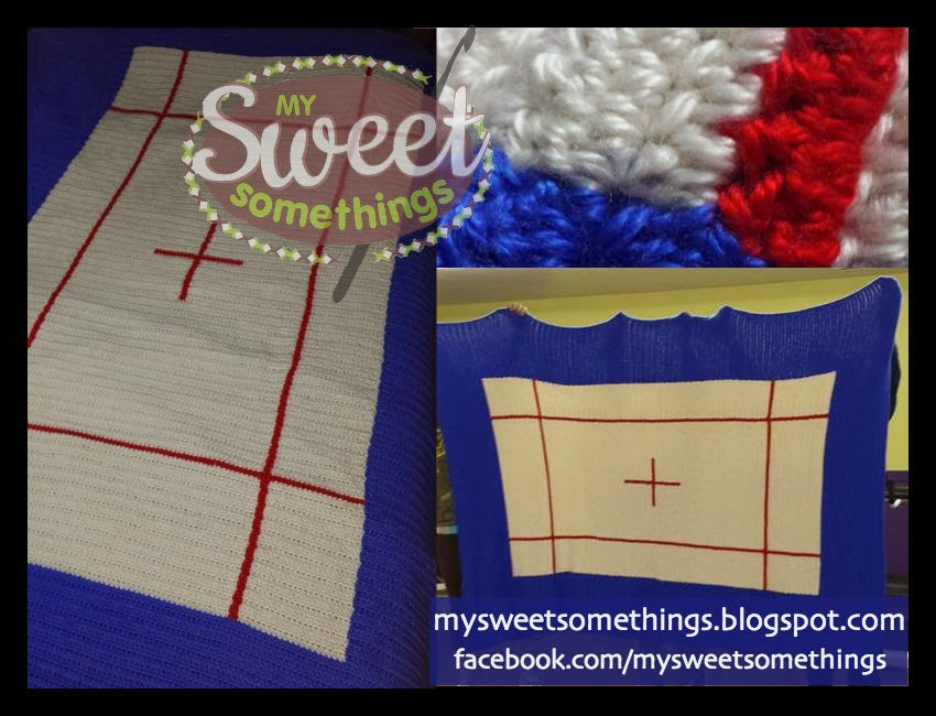 crochet trampoline blanket