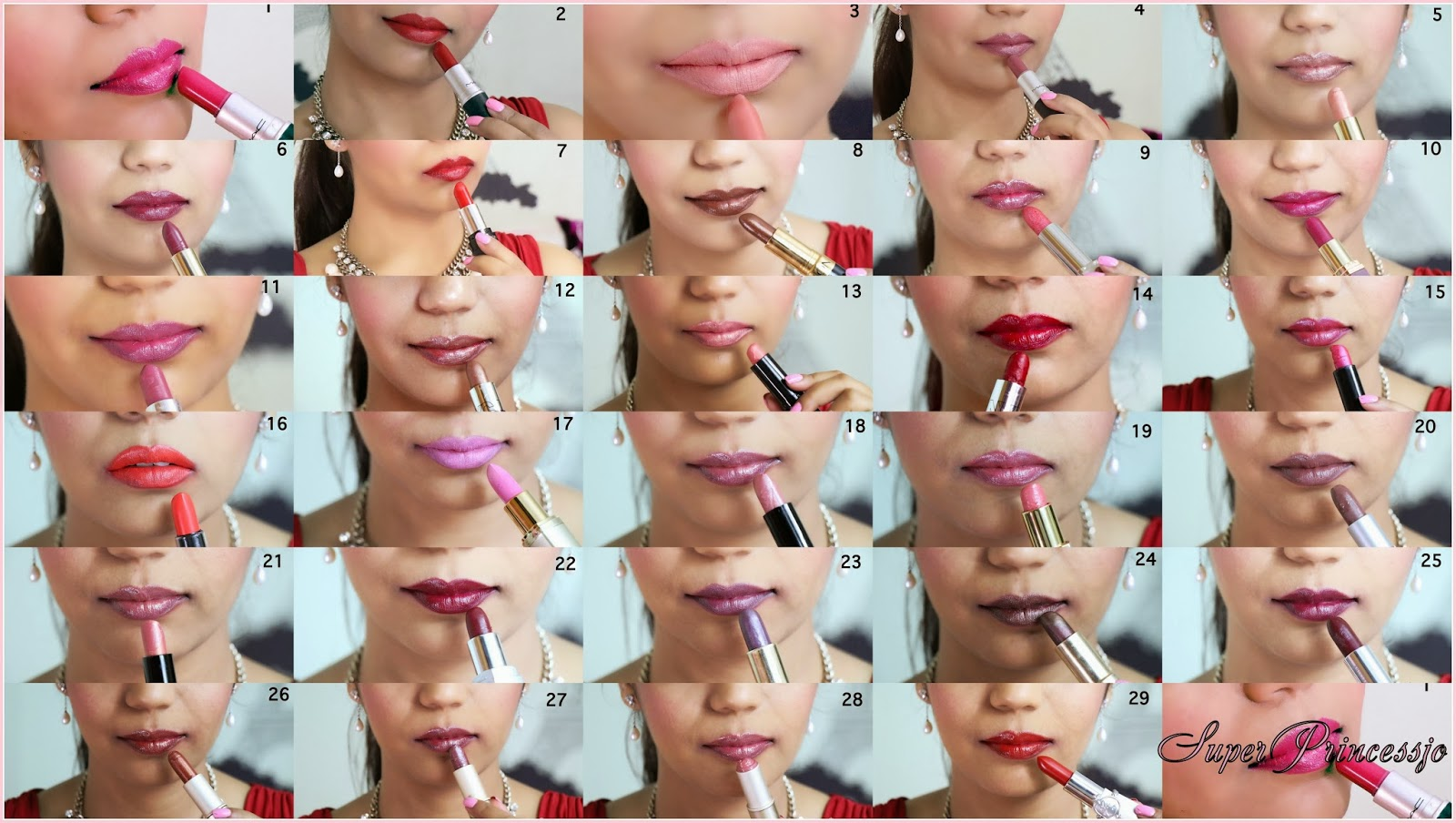 Superprincessjo Lipstick Collection Review And Swatchespictures