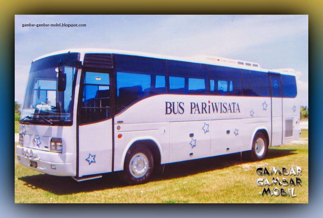 gambar mobil bus pariwisata