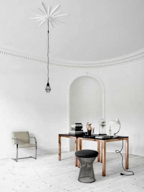 espacios en color blanco