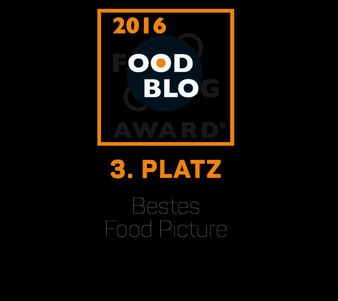 Food Blog Award