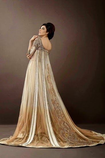 Sonia Azhar Romantic Pakistani Formal Dresses