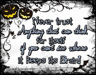 never trust Halloween quote and sayings