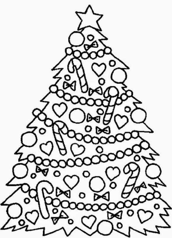 Christmas tree color sheet free coloring sheet for Christmas tree printable coloring page