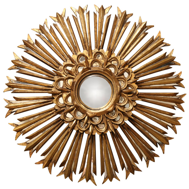 Andrea hebard interior design blog sunburst mirrors for Sunburst mirror