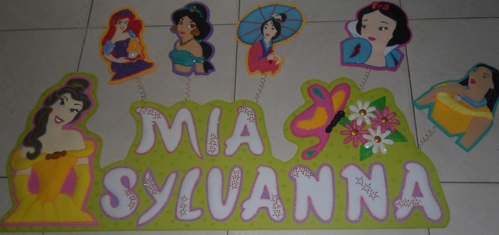 Decoración en Foami: Nombres en Foamy para decorar el cuarto de ...