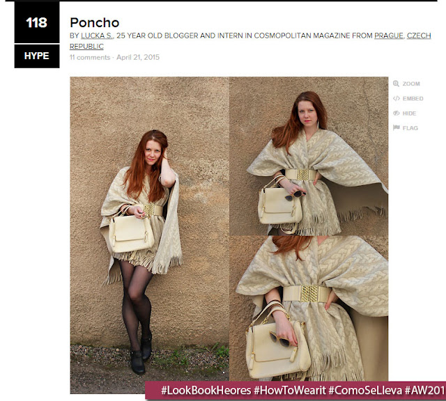 """Poncho"" by Lucka S. \ LookBook.nu"