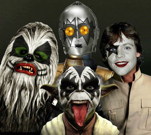 Até a galera do Star Wars é fã do KISS