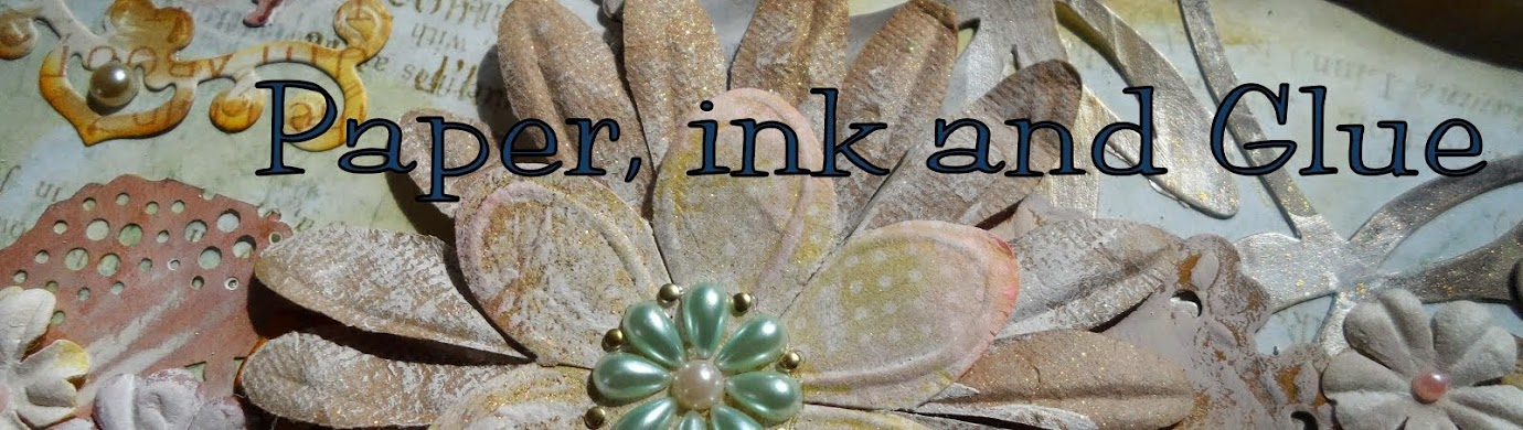 Paper ink and Glue