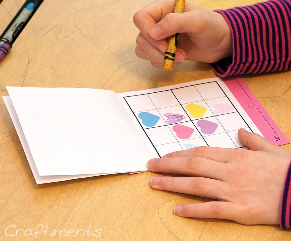 child solving sudoku puzzle
