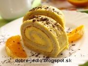 Roláda z pomaranča - recept