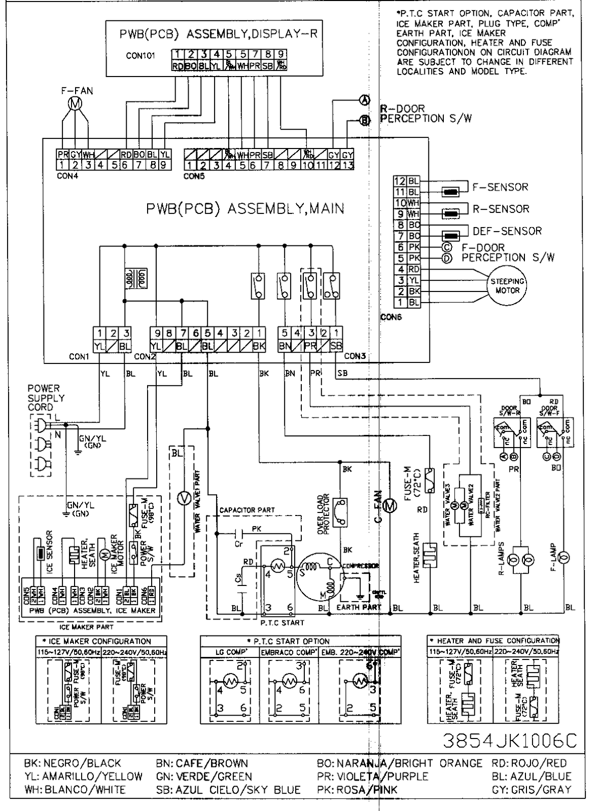 schematic wiring diagram of a refrigerator the wiring diagram wiring diagram lg refrigerator wiring wiring diagrams for schematic