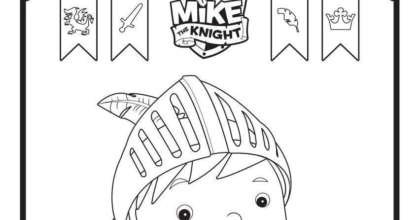 Mike el caballero para colorear y pintar ~ Colorea el dibujos