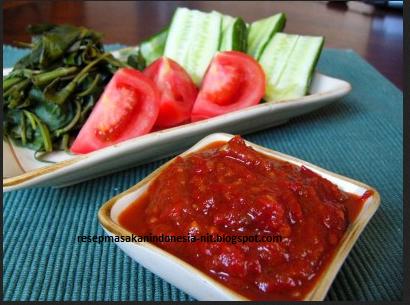 resep sambal terasi enak dan mudah