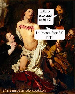 Marca España, Martirio, Salomón de Bray