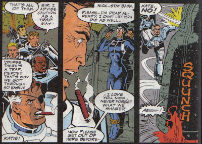 I can't back this up, but that may be more dialog than poor Kate got the last six months or more of this book...