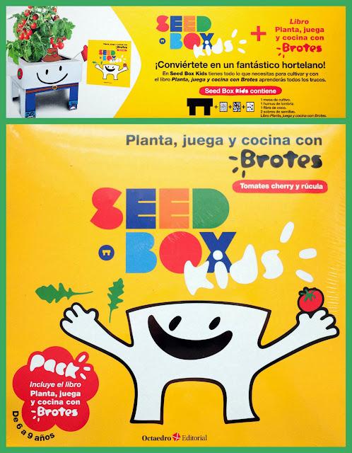 Juego de cultivo Seed Box Kids