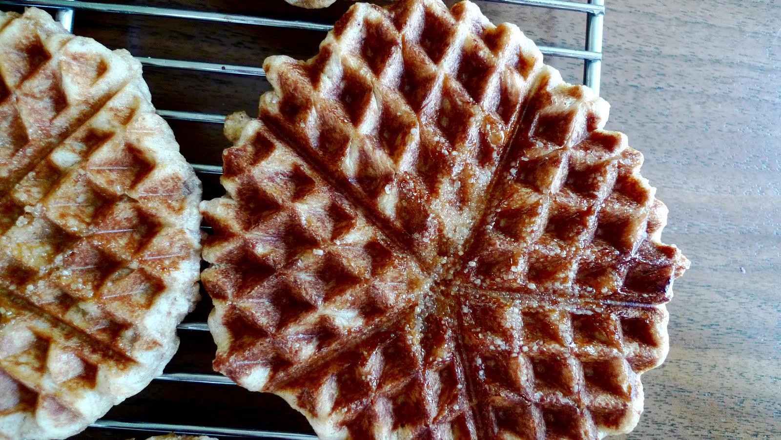 Bon Appétempt: Gaufres de Liege (Belgian Sugar Waffles)