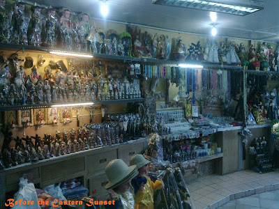 Lacson Underpass - religious items for sale