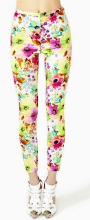 Neon Bloom Pant Floral
