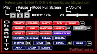 Tv Online Terlengkap di indonesia