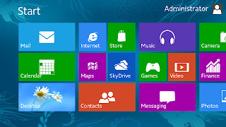 Fake windows 8 android app snapshot