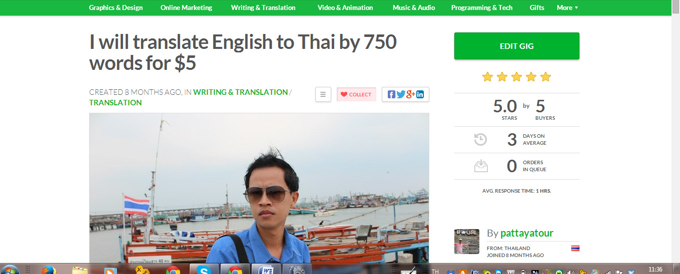 online pdf translator thai to english