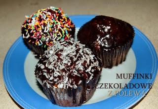 http://smacznydzien.blogspot.com/2013/09/muffinki-czekoladowe-z-polewa.html