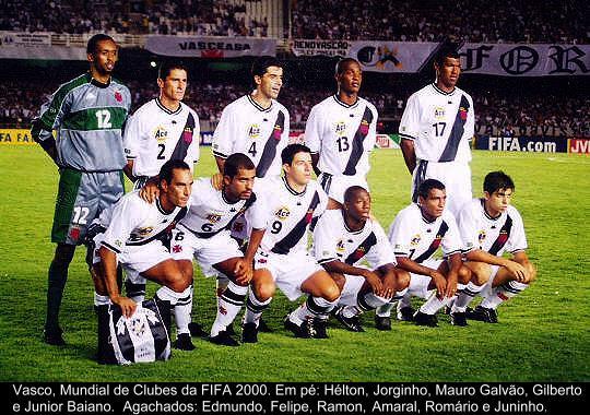 VASCO: VICE CAMPEÃO DO MUNDIAL DA FIFA DE 2000
