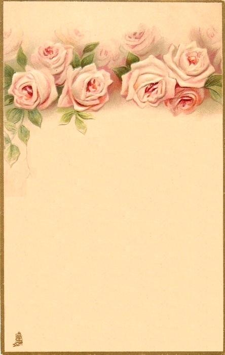 Colecci n de gifs im genes de papeles de carta estilo vintage - Marcos rusticos para fotos ...
